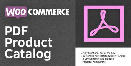 افزونه ووکامرس قرار دادن کاتالوگ محصولات به صورت PDF