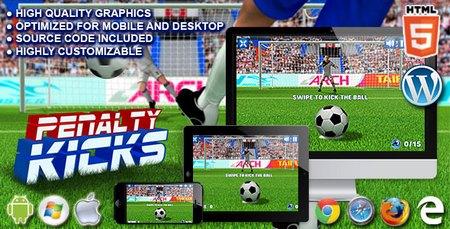 اسکریپت بازی آنلاین ضربات پنالتی Penalty Kicks