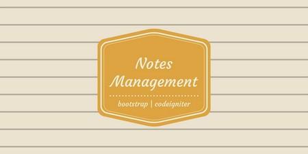 اسکریپت ثبت و مدیریت یادداشت Personal Notes