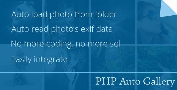 اسکریپت گالری عکس PHP Auto Gallery