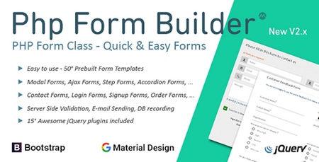 ساخت فرم های حرفه ای با اسکریپت PHP Form Builder