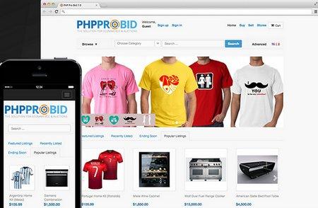 اسکریپت حراجی و مزایده آنلاین PHP Pro Bid نسخه 7.6