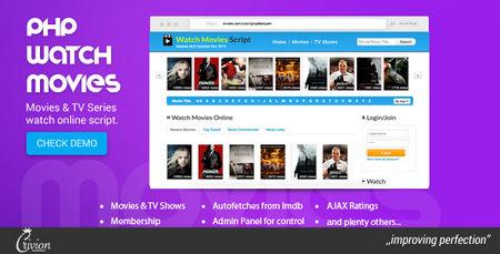 اسکریپت دانلود و تماشای فیلم PHP Watch Movies نسخه 2.5