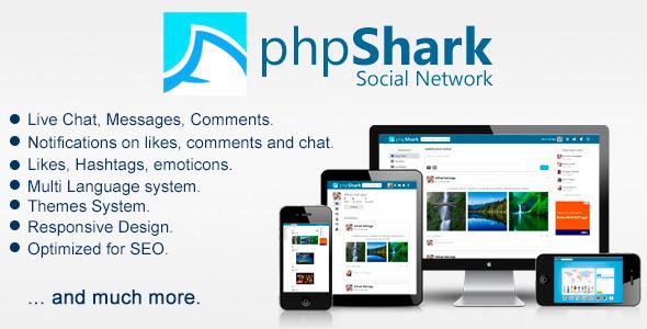اسکریپت شبکه اجتماعی phpShark