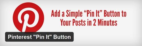 """افزونه ایجاد دکمه پینترست در سایت Pinterest """"Pin It"""" Button"""