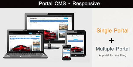 اسکریپت مدیریت محتوا Portal CMS