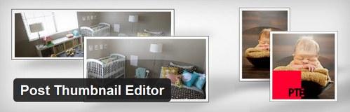 افزونه تغییر اندازه تصاویر بندانگشتی در وردپرس Post Thumbnail Editor