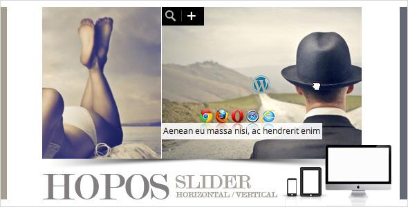 افزونه ایجاد اسلایدر تصاویر وردپرس Hopos Post Slider v1.2