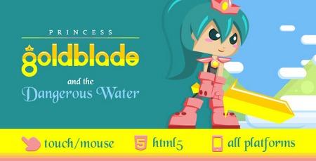 دانلود اسکریپت بازی آنلاین Goldblade به صورت HTML5