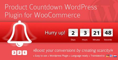 افزونه شمارش معکوس محصولات ووکامرس Product Countdown v4.0.9