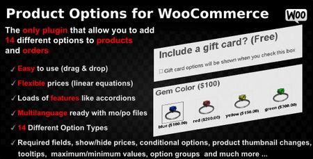 ایجاد فیلد های دلخواه محصولات ووکامرس با Product Options نسخه 4.158