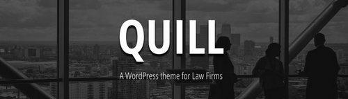 قالب شرکتی و حقوقی Quill برای وردپرس
