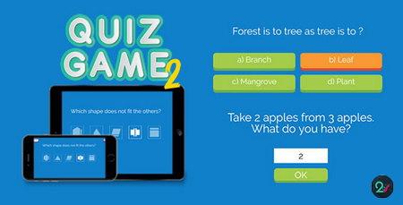 اسکریپت بازی آنلاین سوال و جواب Quiz Game 2