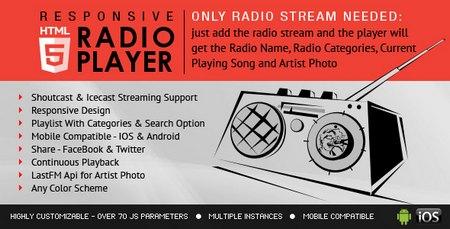 اسکریپت رادیو پلیر آنلاین نسخه 1.5.0