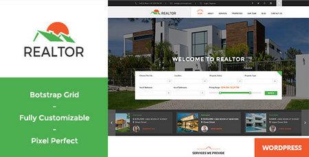 راه اندازی املاک اینترنتی با پوسته Realtor برای وردپرس