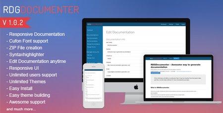 اسکریپت ژنراتور مستندساز RDG Documenter نسخه ۱٫۰٫۲