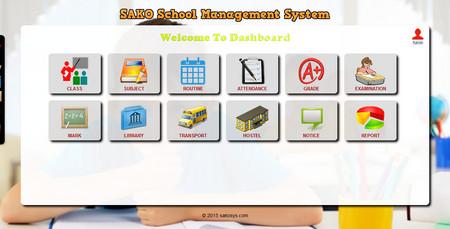 اسکریپت سیستم مدیریت مدرسه Sako School