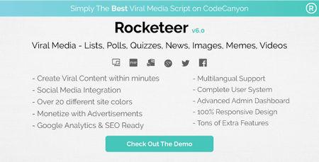 اسکریپت شبکه اشتراک گذاری مطالب Rocketeer
