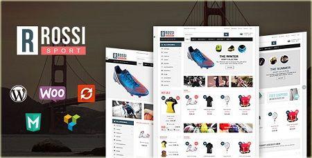 دانلود قالب فروشگاهی Rossi نسخه ۱٫۴ برای وردپرس
