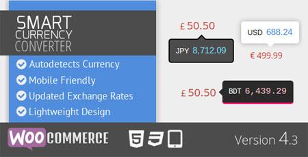 افزونه مبدل واحد پولی ووکامرس Smart Currency Converter