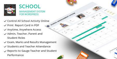 افزونه سیستم مدیریت مدرسه برای وردپرس
