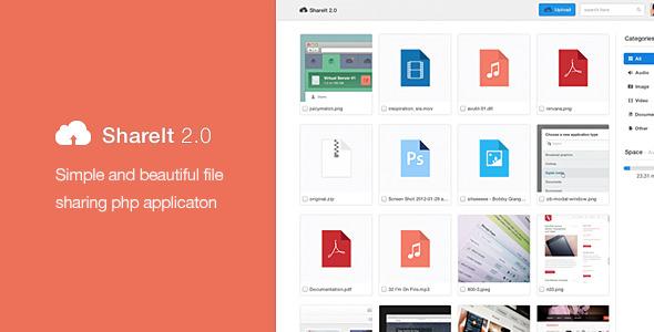 اسکریپت اشتراک گذاری فایل shareit 2.0
