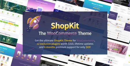 دانلود قالب فروشگاهی ShopKit برای وردپرس