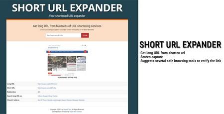 اسکریپت کوتاه کننده لینک Short URL Expander