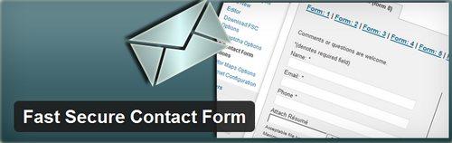 ایجاد فرم تماس حرفه ای در وردپرس با افزونه Fast Secure Contact Form