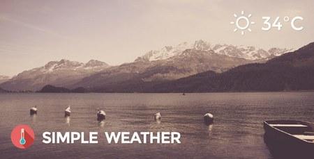 افزونه نمایش وضعیت آب و هوا در وردپرس Simple Weather نسخه 4.3.2