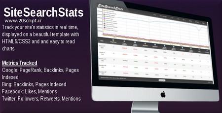 اسکریپت بررسی رتبه وبسایت SiteSearchStats