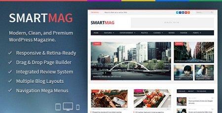 دانلود قالب وردپرس مجله ای خبری SmartMag فارسی نسخه 2.6.1