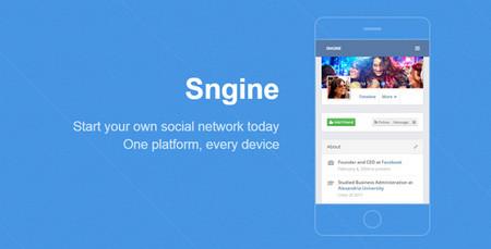 اسکریپت شبکه اجتماعی Sngine نسخه 2.5.8