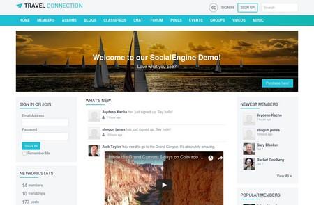 اسکریپت جامعه مجازی Social Engine فارسی نسخه 4.9.4