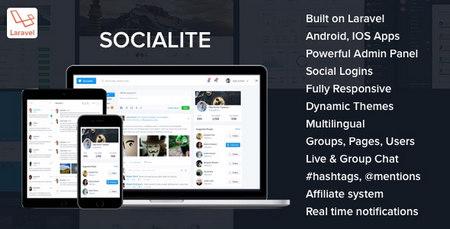 اسکریپت راه اندازی شبکه اجتماعی Socialite