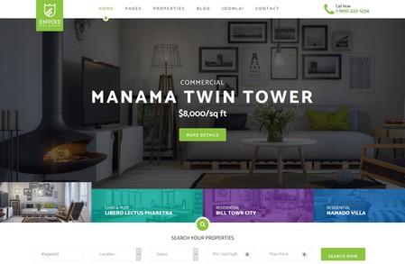 ایجاد سایت مدیریت املاک با افزونه جوملا SP Property