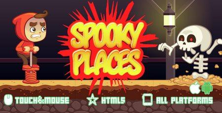 اسکریپت بازی آنلاین مکان های شبح وار SPOOKY PLACES