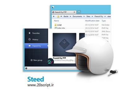 دانلود نرم افزار مدیریت فایل و انتقال بر روی چندین سرور Steed