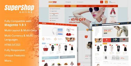دانلود قالب فروشگاهی مجنتو SuperShop نسخه 7.0