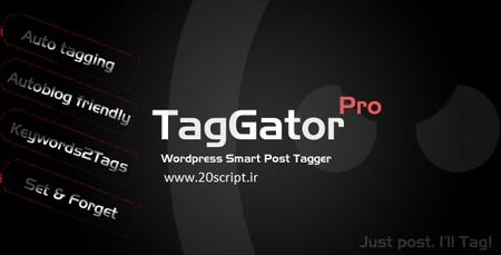 برچسب گذاری خودکار پست های وردپرس توسط افزونه TagGator Pro