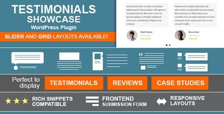 افزونه نمایش نظرات مشتریان در وردپرس Testimonials Showcase نسخه 1.6.7.1