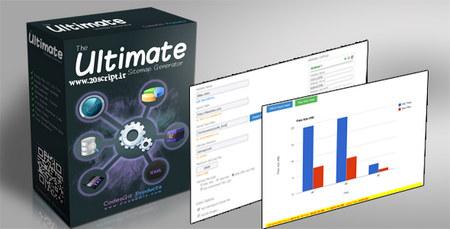 اسکریپت ساخت و مدیریت نقشه سایت Ultimate Sitemap Generator