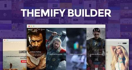 دانلود افزونه Themify Builder ساخت قالب وردپرس