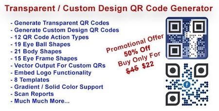 اسکریپت ساخت کد های QR سفارشی QR Code Generator