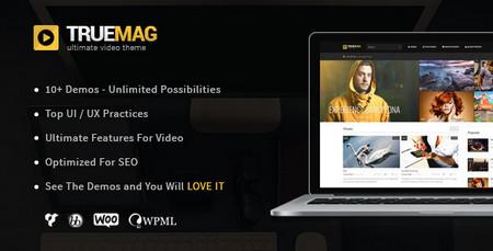 دانلود قالب مجله ای وردپرس True Mag نسخه ۴٫۲٫۸٫۲