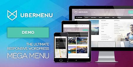 افزونه ساخت منو های زیبا با UberMenu نسخه 3.0