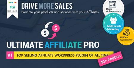 افزونه وردپرس همکاری در فروش Ultimate Affiliate Pro