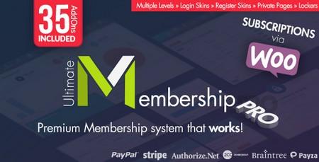 افزونه عضویت ویژه وردپرس Ultimate Membership Pro نسخه 9.4