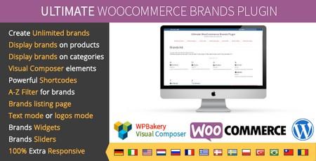 افزونه فارسی نمایش برند محصولات ووکامرس Ultimate WooCommerce Brands Pro