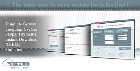 اسکریپت آپلود و فروش فایل UPandSELL